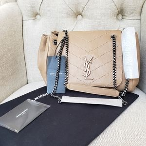 Brand New Saint Laurent Small Nolita bag